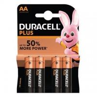 Pilas Alcalinas Duracell Plus Power LR06 (AA) Blister de 4 pilas