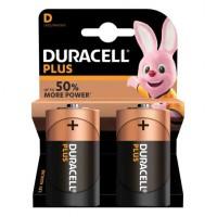 Pilas Alcalinas Duracell Plus Power LR20 (D) Blister de 2 pilas