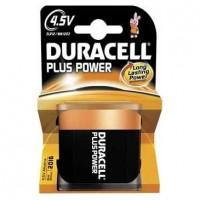 Pila Alcalina de Petaca Duracell Plus Power 4,5V (3LR12)