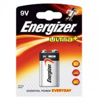 Pilas Alcalinas Energizer Ultra+ 9V (6LR61 o LR22) Blister de 1 pila