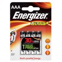 Pilas Alcalinas Energizer Ultra+ LR03 (AAA) Blister de 4 pilas