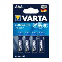 Pilas Alcalinas Varta High Energy LR03 (AAA) Blister de 4 pilas