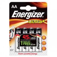 Pilas Alcalinas Energizer Ultra+ LR06 (AA) Blister de 4 pilas