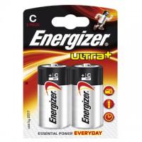 Pilas Alcalinas Energizer Ultra+ LR14 (C) Blister de 2 pilas