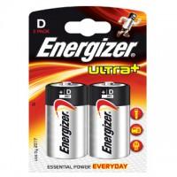 Pilas Alcalinas Energizer Ultra+ LR20 (D) Blister de 2 pilas
