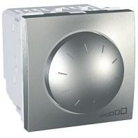 Regulador Interruptor Conmutador 40-400 W/VA Aluminio Schneider UNICA TOP