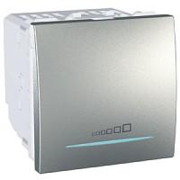 Regulador Interruptor Conmutador  20-350 W/VA Aluminio Schneider UNICA TOP
