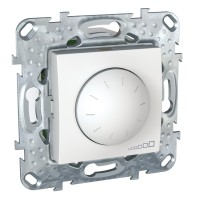 Regulador - conmutador Led 10-100 VA Schneider Unica Plus POLAR