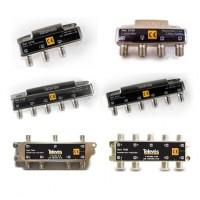 Repartidor de Interior Televés 5-2400Mhz TDT-SAT Conector F (2, 3, 4, 5, 6 y 8 salidas)