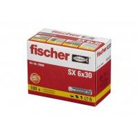 Caja Tacos FISCHER SX nylon (6 y 8mm) 100 Ud.