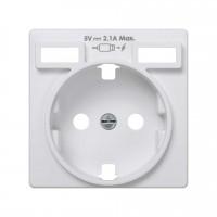 Tapa Enchufe + Cargador Doble USB Simon 82
