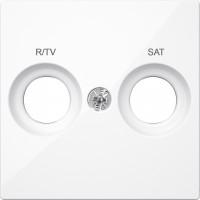 Tapa R/TV-SAT Schneider Elegance BLANCO ACTIVO