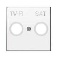 Tapa TV-R/SAT Niessen Sky Blanco
